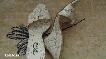 Prodajem nove ženske papuče, br 36, visina štikle 8cm cena 700 - Belgrade
