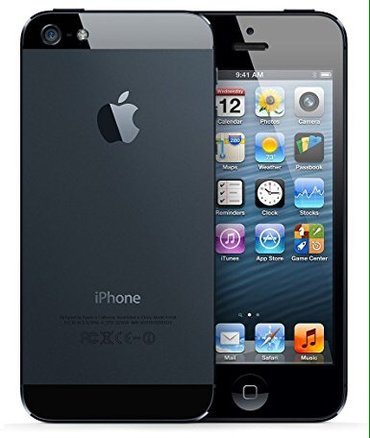 Bakı şəhərində Iphone 5 16 gb black.. 1ci elden mendedi... Ustunde karobka adapter,or