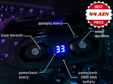Blutuz Qulaqlıq F9 Original Blutuz qulaqlıq 9D BASS və Küy Təmizləmə