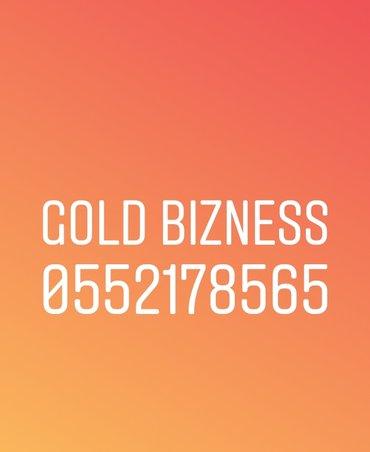 Bakı şəhərində Bakcell Bizness Gold