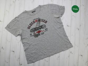 Женская футболка с принтом In Extenso,р.L    Длина: 65 см Пог: 56 см П
