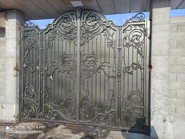 механизмы для ворот в Кыргызстан: Ворота | Автоматические, Распашные, Откатные | Металлические | Гарантия, Бесплатный выезд, Бесплатная доставка
