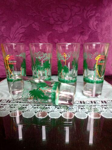 Čaše za piće - Srbija: Case nove,visoko dno za pice,puno