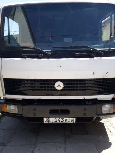 грузовой в Кыргызстан: Под кму Мбенс 814 с грузовой платформой. С местом под кран