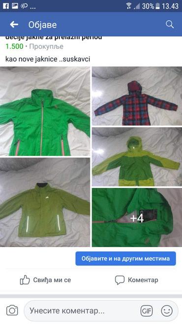 Decije jakne za prelazni period - Prokuplje