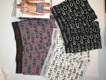 Pantalone braon icna frd - Srbija: Calvin Klein M vel, paket 3kom,vrhunske