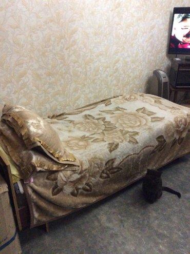 продаю односпальную кровать с отличным матрацом и немецкую кровать 1 с в Бишкек