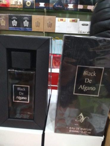 Bakı şəhərində Black afgano yeni etir parfum duxi