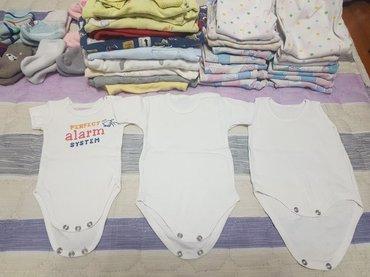 продаю детские вещи с рождения до 6-7 месяцев одним большим пакетом. 1 в Бишкек