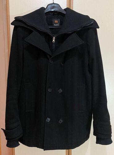 Muški kaput, L veličina Odličan za hladno vreme, zahvaljujući debljoj