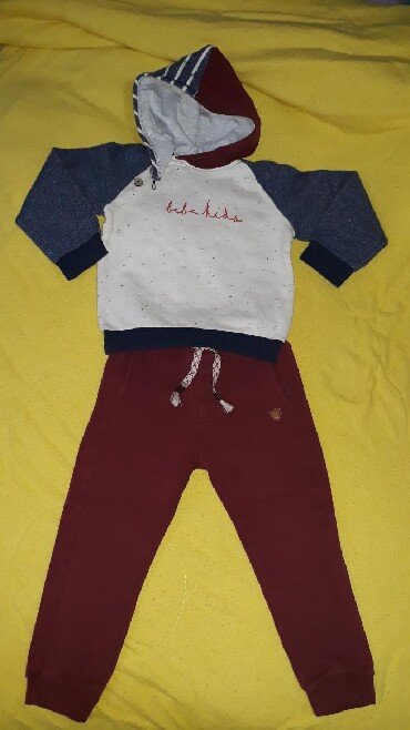 Ostala dečija odeća | Valjevo: BEBA KIDS trenerka za decaka, velicina trojkaTrenerka je u perfektnom