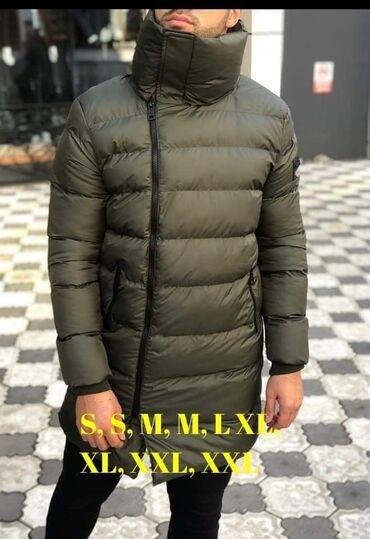 RASPRODAJAMuske jakne, nepromocive, visoka kragna, tople, punjene