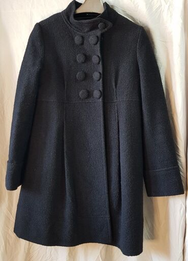Пальто буклерованное. BCBGMaxazria. Made in Italy. Размер S/M. 100% ш