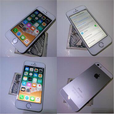 iphone-5-64-gb в Азербайджан: Salam telefon apple 5s tezeden feriqlenmir 64gb her şeyi işleyir