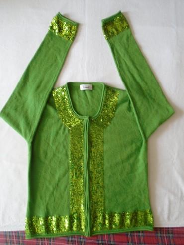 Stefano - Srbija: Džemper Steffen Schraut, visoka moda, nežno zelene boje od 100%