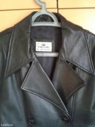 Meka kozna jakna u savrsenom stanju,malo nosena, vel. L kupljena u led - Valjevo