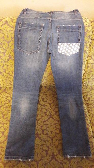 Benetton slim fit jeans za decaka velicina 12 odlicno ocuvane malo nos - Beograd