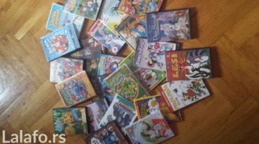 Deciji crtaci na dvd 50 kom 1000 din, 100 kom 1600 veliki izbor - Jagodina