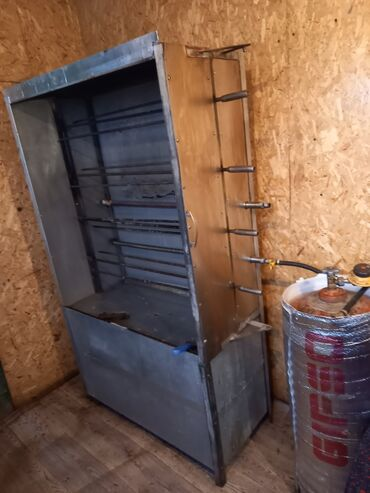 290 объявлений: Гриль апарат газовая нержавейкадан жасалган айнеги огнеупорный