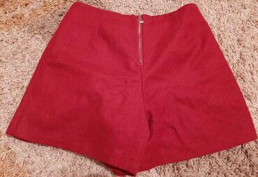 шорты теплые в Кыргызстан: Продаю шорты теплые, бордового цвета, новые. Размер М