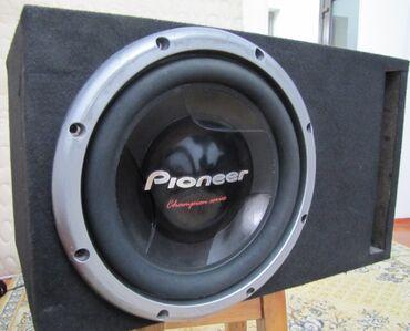 pioneer 6050 в Кыргызстан: Продаю сабвуфер pioneerсостояние отличноемощность не известна (но