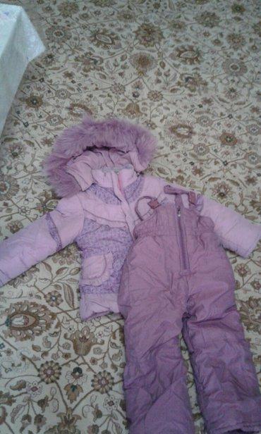 Куртка+комбинезон,от фирмы крош. На 4-5 лет