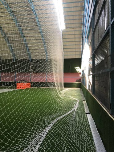 сетка для футбольного поля в Кыргызстан: Капроновая сетка для мини футбольного поля