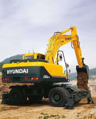 шредеры 9 компактные в Кыргызстан: Продаю Колесный экскаватор Hyundai R210W-9SЭксплуатационная масса