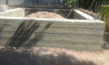 фундамент кладка крыша в Кок-Ой