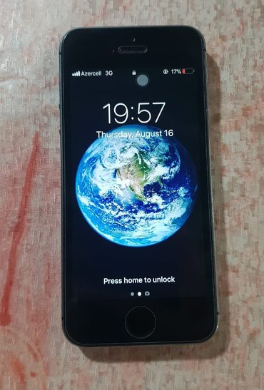 Bakı şəhərində Apple IPhone 5S Space Gray 16 gb