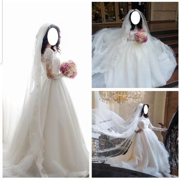 Свадебное платье от Анвара Турдубаева! Эксклюзив, сшит на заказ и