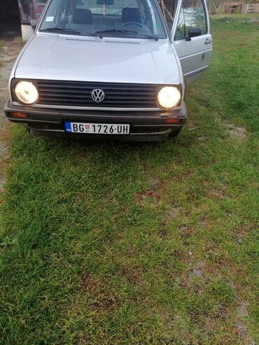 Vozila - Srbija: Volkswagen Gol 1.3 l. 1985 | 100000 km