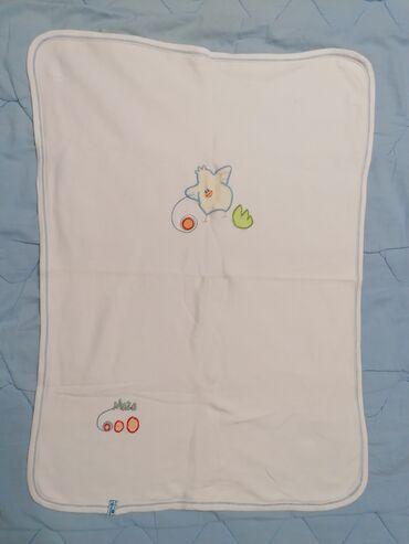 Ostale dečije stvari | Srbija: Prekrivač Maza, cist pamuk za malu bebu, poklon jastucnica šivena
