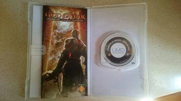 PSP (Sony PlayStation Portable) - Azərbaycan: God of War psp ucun