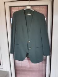 Pantalone-sako - Srbija: Sako i pantalone,40 vel, kupljeno u Svajcarskoj. Svila
