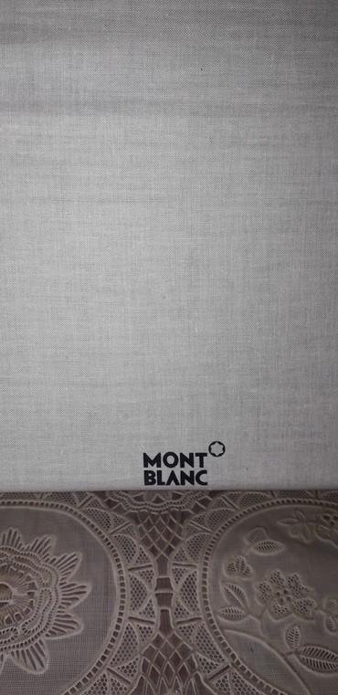 Xırdalan şəhərində Monf Blanc Firmasinin Blaknotu Iwlenmeyin Yenidir.