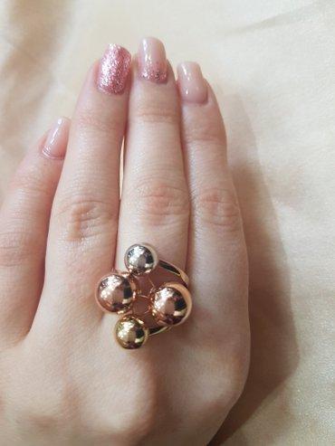 Кольца эксклюзив. из красного золота 585 проба. размер кольца17. 5 в Бишкек