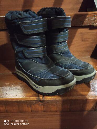 next shorty в Кыргызстан: Продаю зимние ботиночки Next,на мальчика размер10,наш 26-27