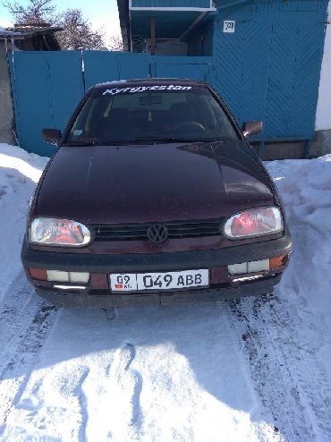 volkswagen-golf-бу в Кыргызстан: Volkswagen Golf 1.6 л. 1994 | 300000 км