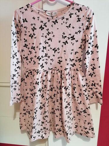 Puder roze haljinica Koton, vel 5-6 (110-116) nova sa etiketom, divna