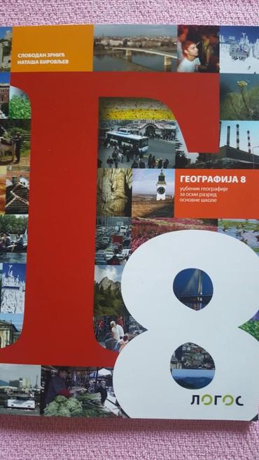 8 r geografija udzbenik logos novo - Sremska Mitrovica