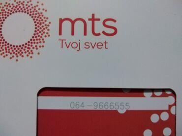 Mobilni telefoni - Leskovac: Mts broj novi 064/