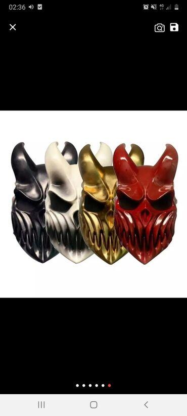 маски где купить в Кыргызстан: Куплю такую маску с подвижной челюстью