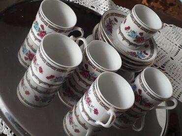 Kuhinjski setovi - Subotica: Porcelanske šoljice, bez oštećenja, nekorištene