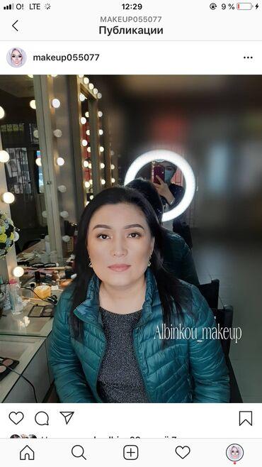 делаем макияж и причёску в Кыргызстан: Макияж на выезд .Профессиональная косметика!