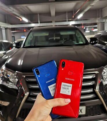 Электроника - Кара-куль: Продаю Самсунг А10s красный цвет 32гб. Использовала только месяц