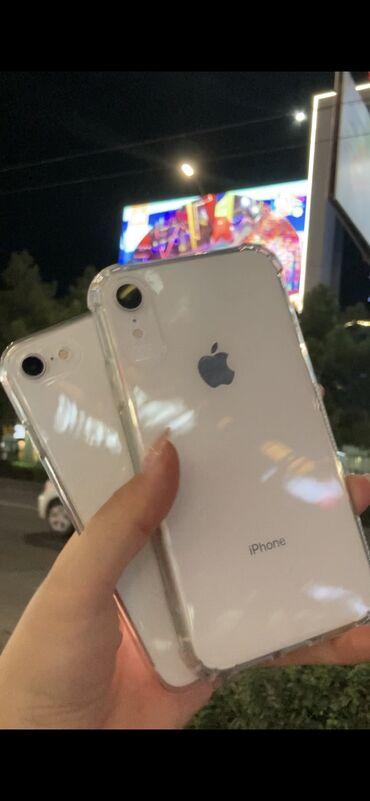 авто в кредит без первоначального взноса 2020 in Кыргызстан   ДРУГИЕ МОБИЛЬНЫЕ ТЕЛЕФОНЫ: IPhone Xr   128 ГБ   Белый Б/У   Отпечаток пальца, Face ID