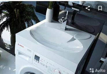раковина с тумбой бишкек в Кыргызстан: Раковина Comfort Andrea, устанавливается над стиральной машиной