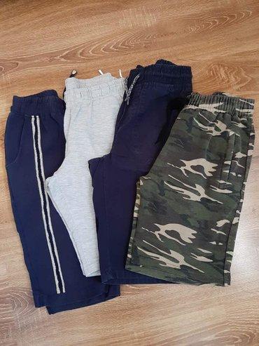 Dečija odeća i obuća - Barajevo: 4 sortsa za decaka. Velicina 10/12. Cena 800 din