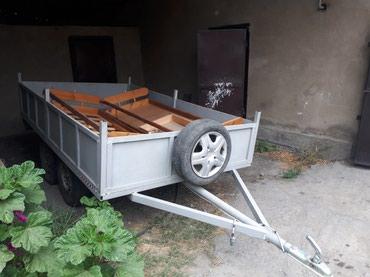 Продается прицеп двуосный. Размеры 165x285 Цена 70000 в Бишкек